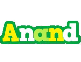 Anand soccer logo