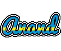 Anand sweden logo