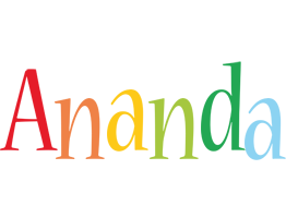 Ananda birthday logo