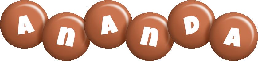 Ananda candy-brown logo