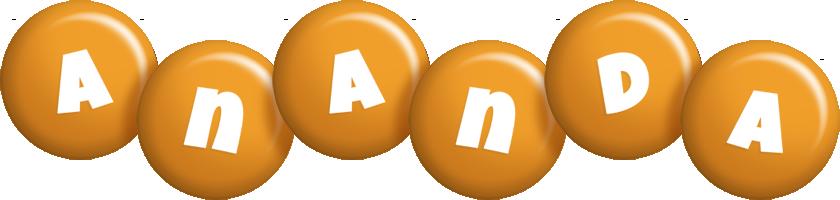 Ananda candy-orange logo