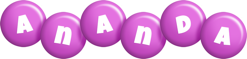 Ananda candy-purple logo