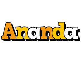 Ananda cartoon logo