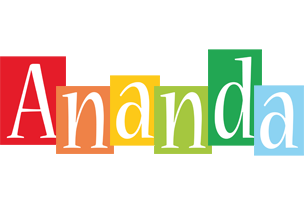 Ananda colors logo