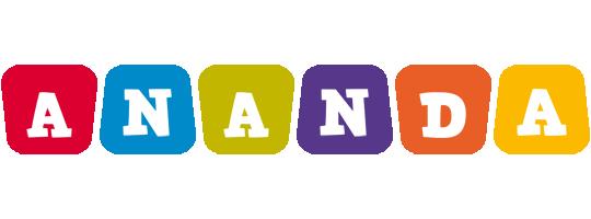 Ananda daycare logo