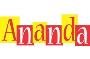 Ananda errors logo