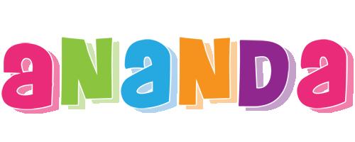 Ananda friday logo