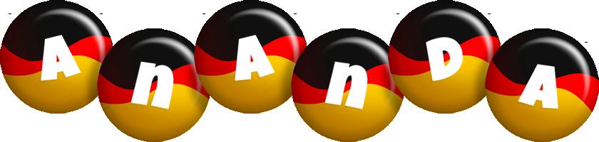 Ananda german logo