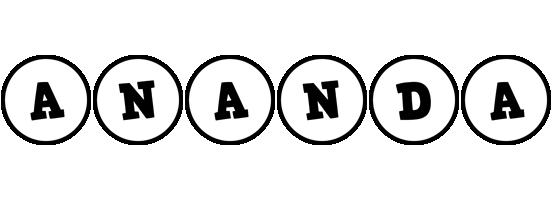 Ananda handy logo