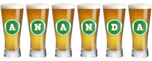 Ananda lager logo