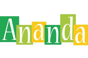 Ananda lemonade logo