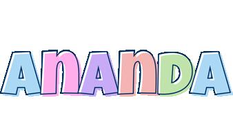 Ananda pastel logo