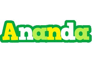 Ananda soccer logo