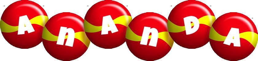 Ananda spain logo