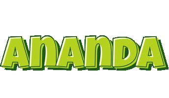 Ananda summer logo