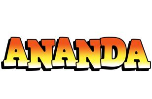 Ananda sunset logo