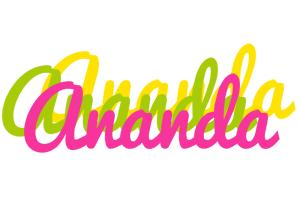 Ananda sweets logo