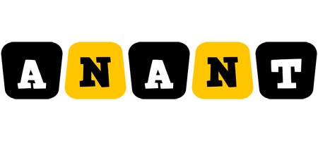 Anant boots logo
