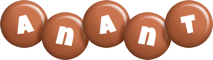 Anant candy-brown logo