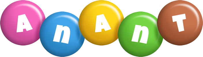 Anant candy logo