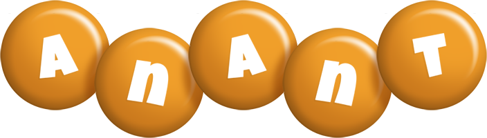 Anant candy-orange logo