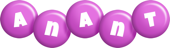 Anant candy-purple logo