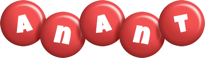 Anant candy-red logo