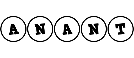 Anant handy logo