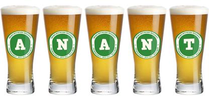 Anant lager logo