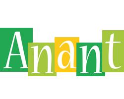 Anant lemonade logo