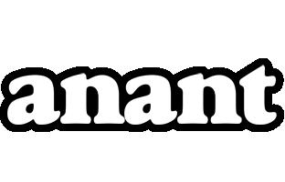 Anant panda logo