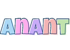 Anant pastel logo
