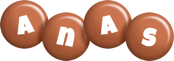 Anas candy-brown logo