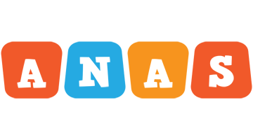 Anas comics logo