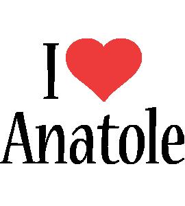Anatole i-love logo