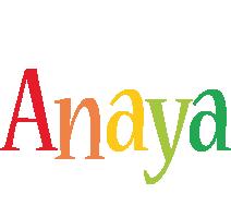 Anaya birthday logo
