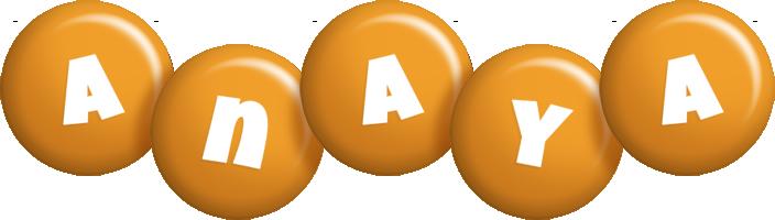 Anaya candy-orange logo