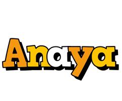 Anaya cartoon logo