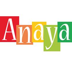 Anaya colors logo