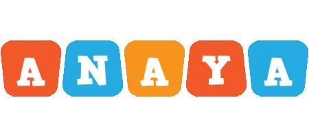 Anaya comics logo
