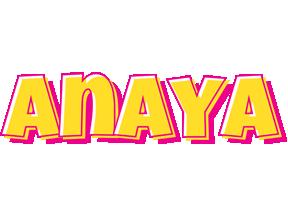 Anaya kaboom logo