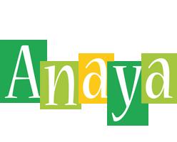 Anaya lemonade logo