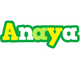 Anaya soccer logo