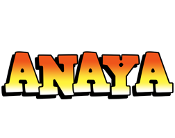 Anaya sunset logo
