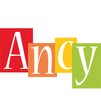 Ancy colors logo