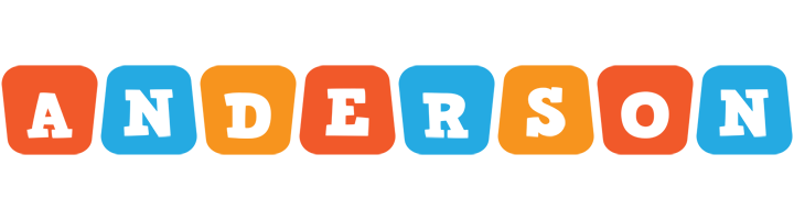 Anderson comics logo