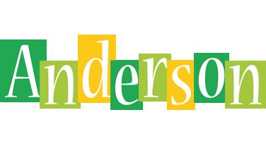 Anderson lemonade logo