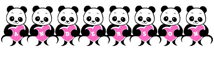 Anderson love-panda logo
