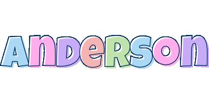 Anderson pastel logo