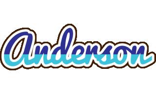 Anderson raining logo